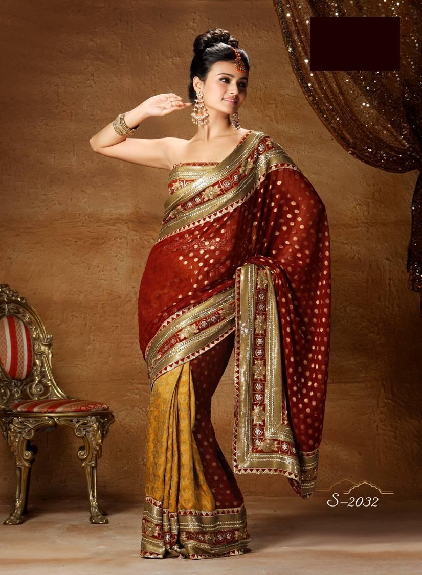Fashion 2009 Banarsi Saree