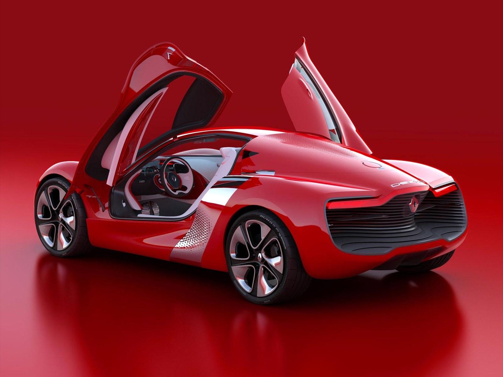 Ultimate Machines: Renault DeZir 2010