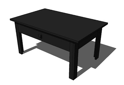 Ana White Lucille Coffee Table Diy Projects