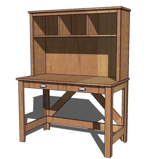 Desk Designs Diy: Brookstone Desk - DIY Projects