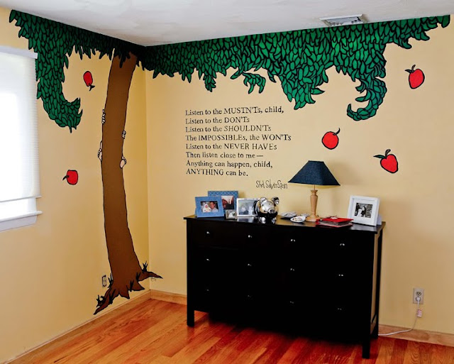 Shel Silverstein Quotes About Education: Rebecca Morrison Artspace: SHEL SILVERSTEIN MURAL