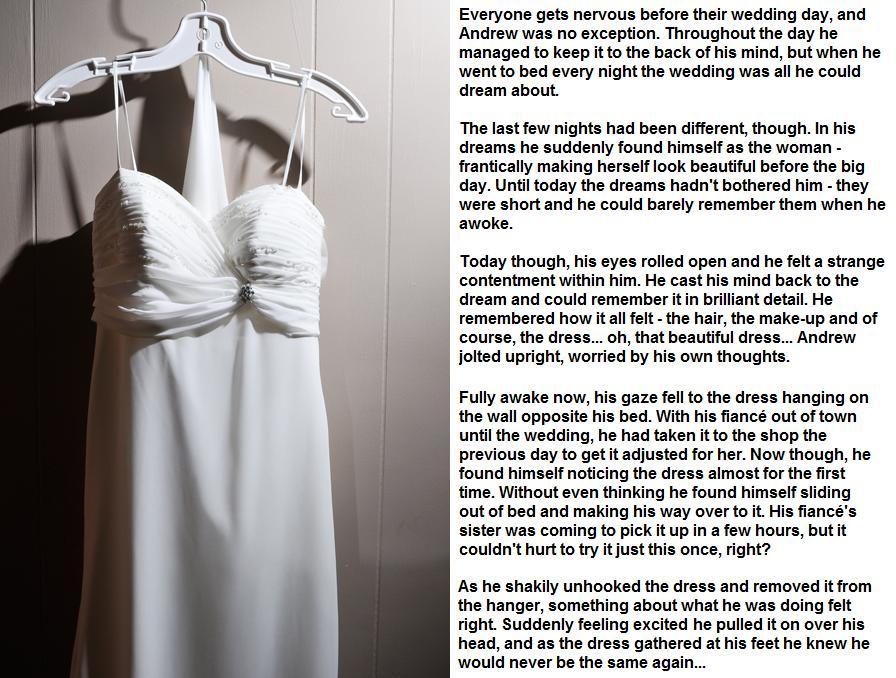 Emily's TG Captions: Wedding Nerves