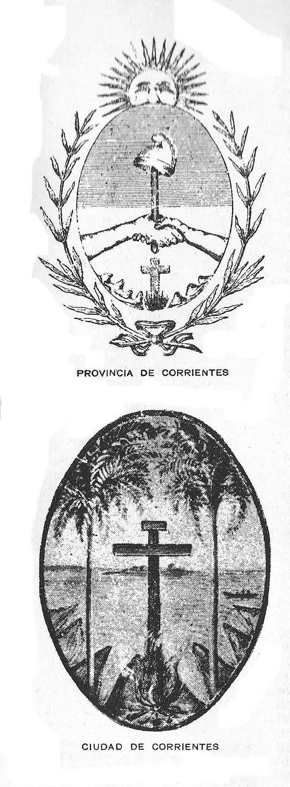 Heráldica en la Argentina: Escudo de Corrientes