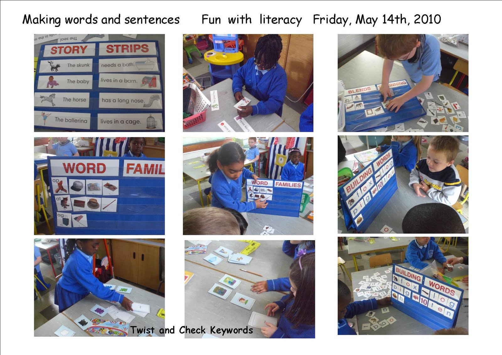 Literacy Site Fun With Words