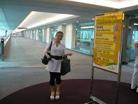 Little Miss Honey travelling