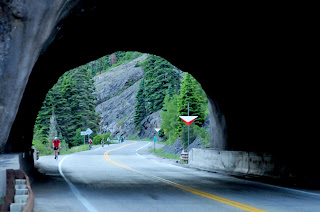Twilight Red Mountain Pass Tunnel