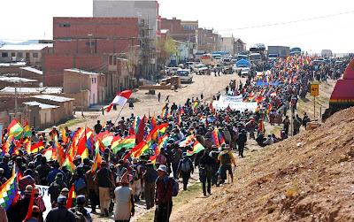 BOLIVIA... LO MEJOR QUE TENEMOS: CAMPESINOS MARCHAN POR LA ...
