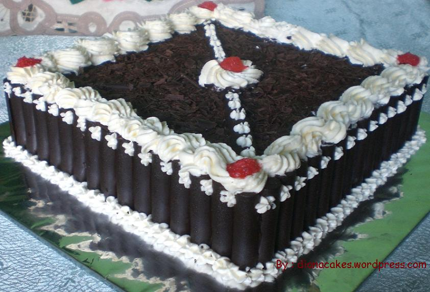SANTI CAKE KUE BLACK FOREST