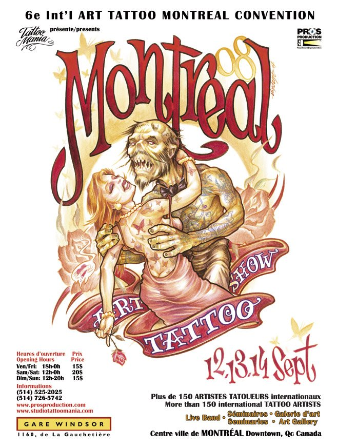 montreal tattoo show, montreal tattoo art, montreal tattoo festival, quebec tattoo, quebec tattoo show