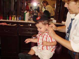 1st hair cut at Magic Kingdom