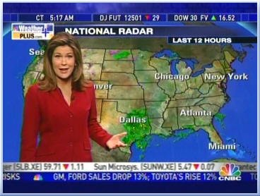 Kristen Cornett: Our Favorite Meteorologist: January 2011