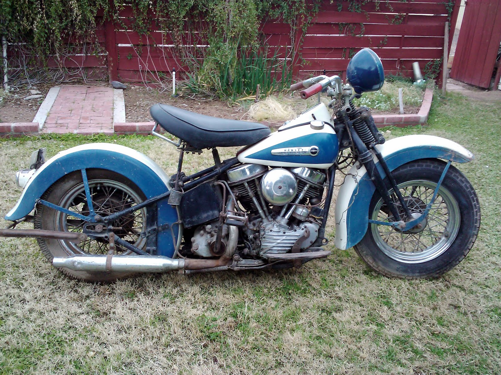 hight resolution of 1948 panhead barnfind lucky day