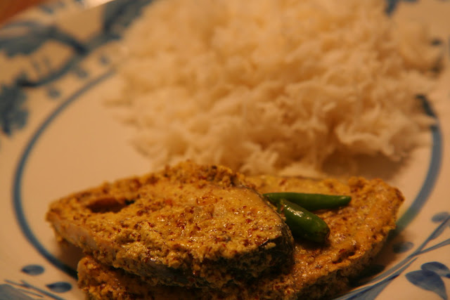 ilish bhapa hilsa steamed