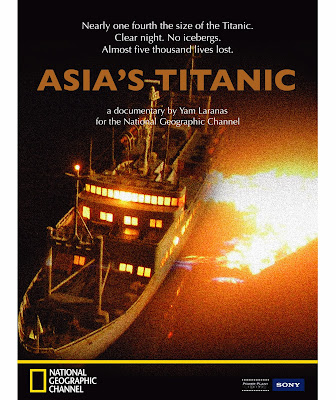Asia's Titanic on Nat Geo Channel (SKY Cable Channel 41