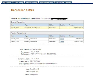 EON ATM, EON, PayPal Transactions, How to Withdraw PayPal Funds