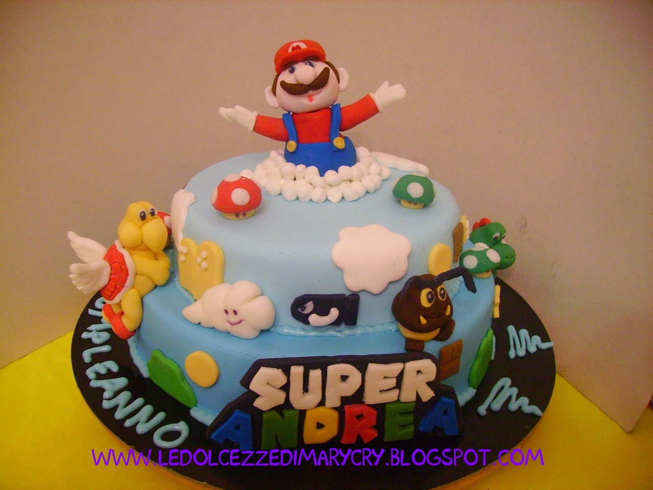 Le Dolcezze Di Mary Cry Cake Mariobros