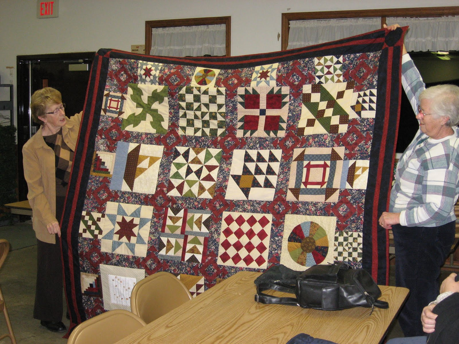 Farmer S Daughter Quilter Quilts Calamities And Donation