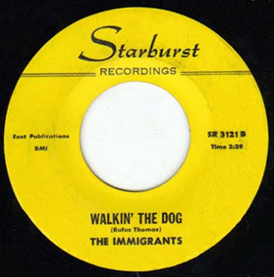 immigrants,immigrants 66,psychedelic-rocknroll,starburst,walkin_the_dog,single