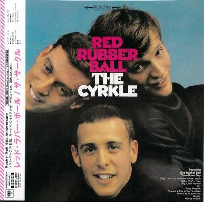 CYRKLE,RED_RUBBER_BALL,PSYCHEDELIC-ROCKNROLL,1966,BEATLES,EPSTEIN,DAWES,DANNEMANN,COLUMBIA,JAPANESE,FRONT
