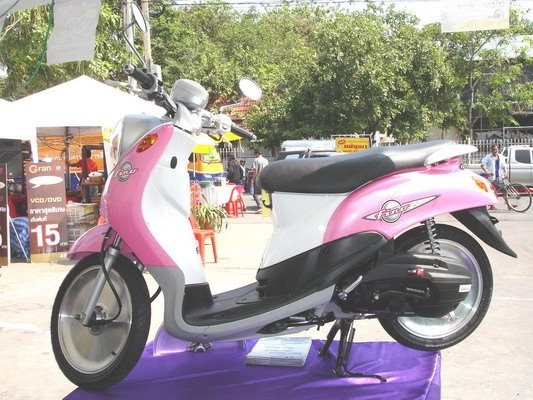 New Of Yamaha Fino Modification Contest Picture In Bangkok