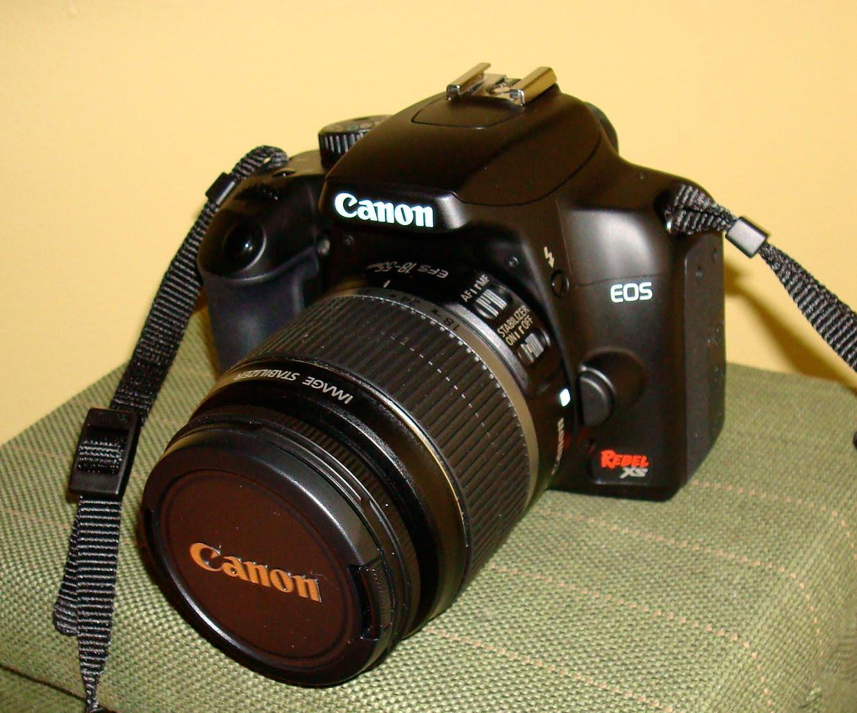 Canon rebel Xs user s manual