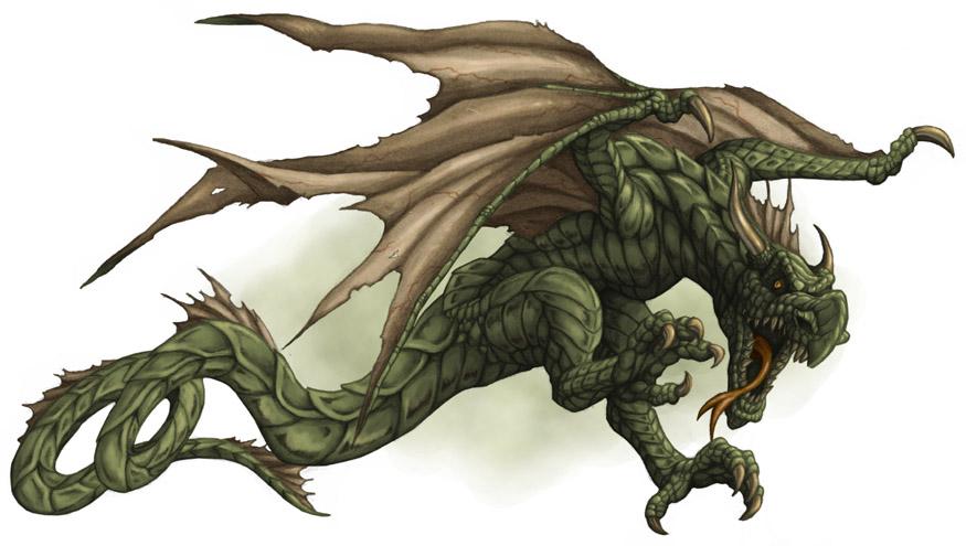 Wyvern Dragon: The Book Of Worlds: Creature: Wyvern