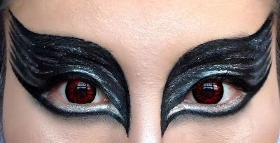 Black swan inspired makeup tutorial + easy removal of heavy makeup.