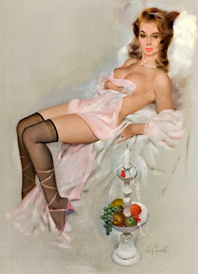 Fritz Willis pin up girl
