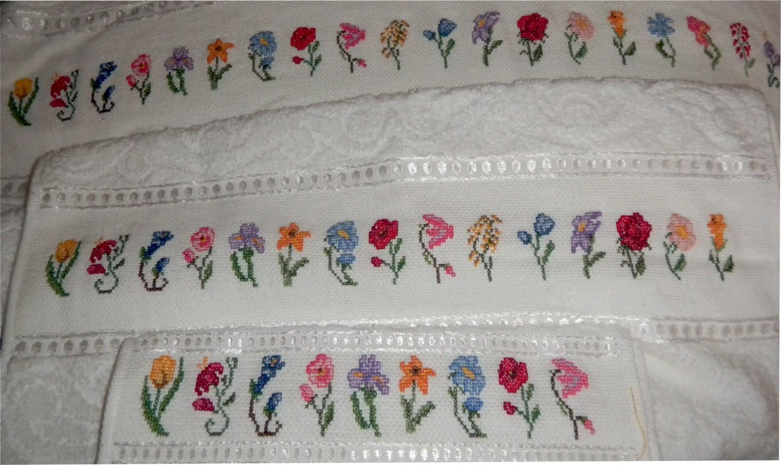 Yolokoso Flores De Mil Colores En Punto De Cruz