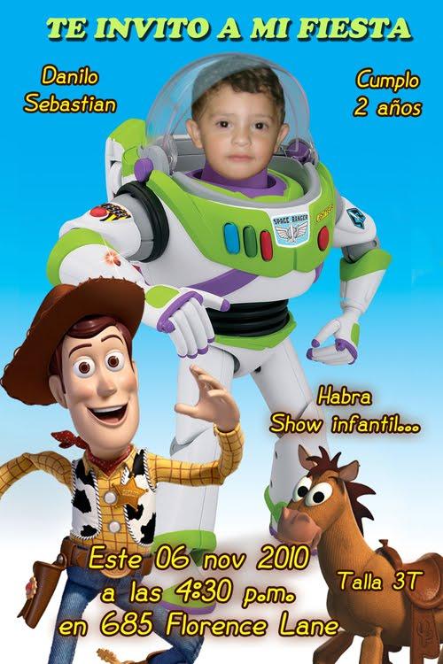 Tarjetas De Cumpleaños Con Didujos De Toy Story Imagui