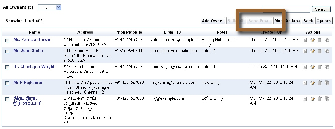 iFreeTools Blogs: Feature Preview : Email Templates and Bulk