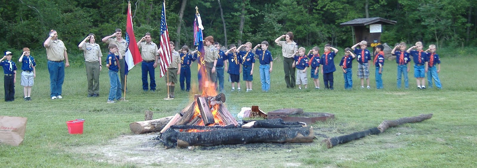Candle Ceremony For Crossover Cub Scouts Party