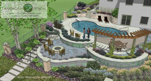 Swimming Pool Landscape Design Ideas