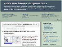 Aplicaciones informaticas y programas gratis