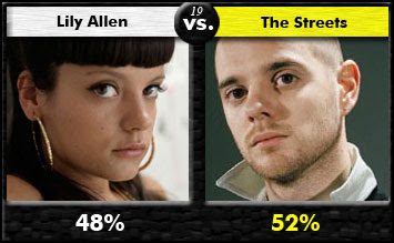 Lily Allen vs. The Streets