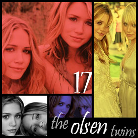 The Olsen Twins would make good threesome material