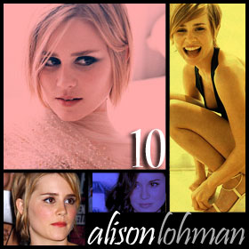 Alison Lohman looks younger than she is