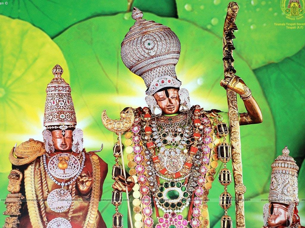Free God Wallpaper Lord Srinivasa Wallpapers