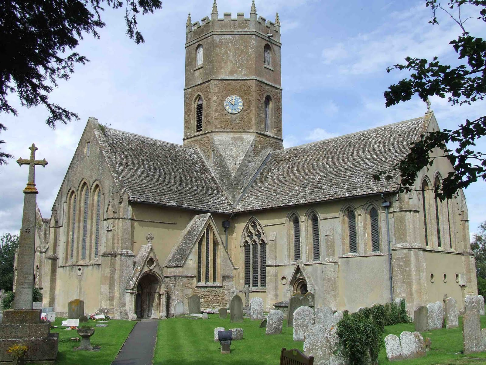 Uffington Oxfordshire Pointed Architecture