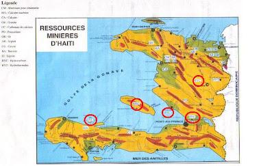 Haiti Karte.Alles Schall Und Rauch Copy Karte Der Bodenschätze Von Haiti