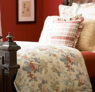 Here Is A Little Inspiration From Ralph Lauren S Home Collection Lake House Bedding Although My Color Choices Were Diffe