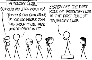 Tautology Club Comic Strip
