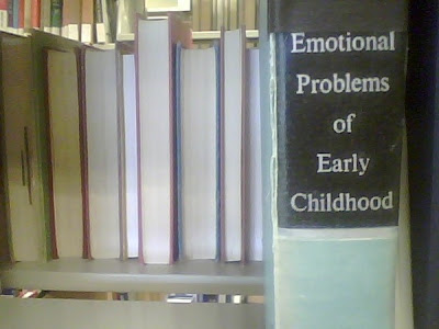 Emotional Problems in Early Childhood Parenting Book Cover