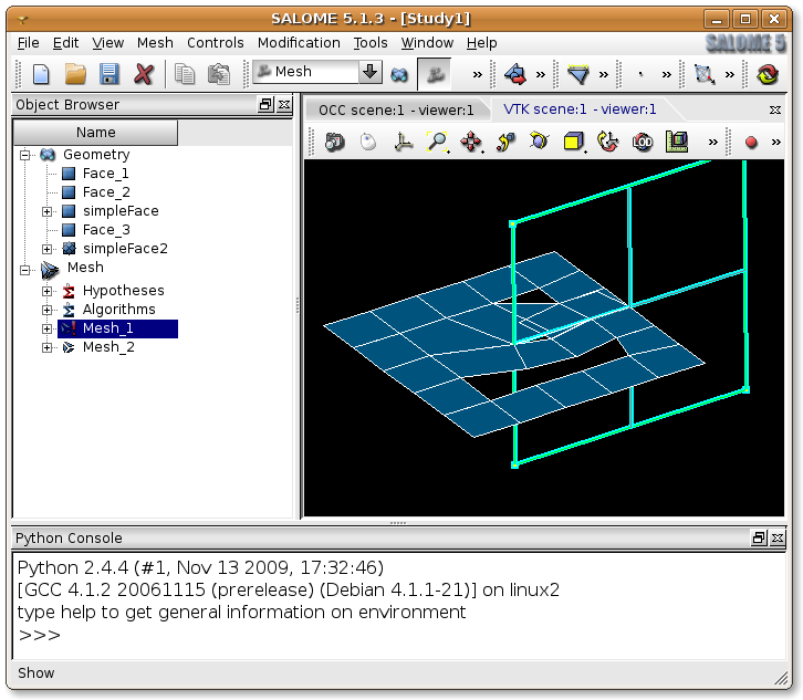 Open Source FEM: Partition tool bug in Salome 5 1 3