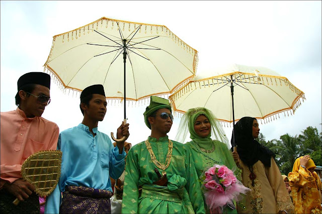 Traditional Malay wedding