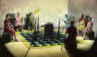 Image result for imagen de la iniciacion masonica