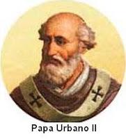 Resultado de imagem para papa urbano ii