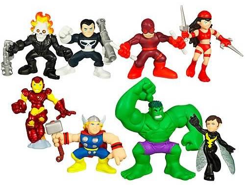 Kids Toys Action Figure: Comics NEWS! Marvel's Baby Toys Squad