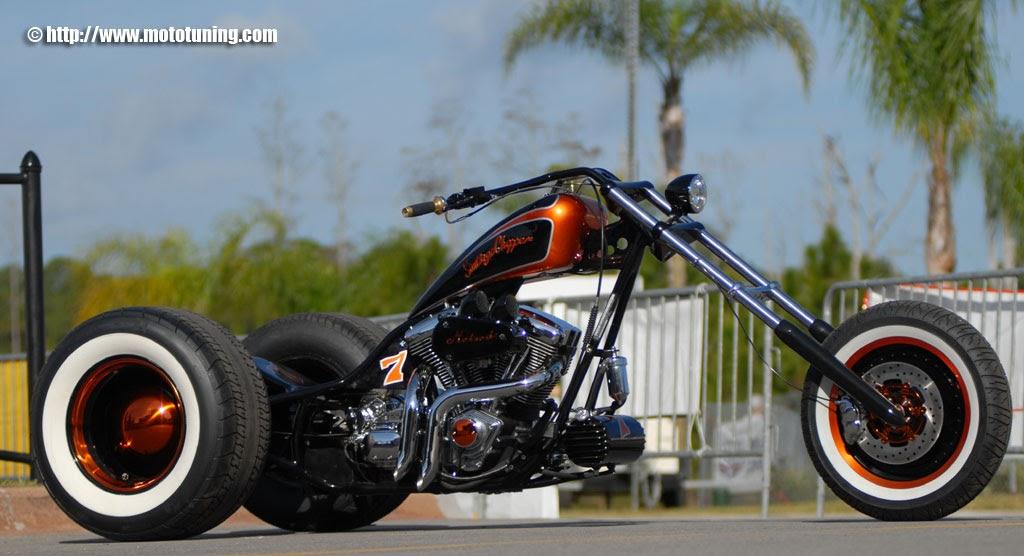 Moto Triciclo Motorcycle Trike Santiago Chopper