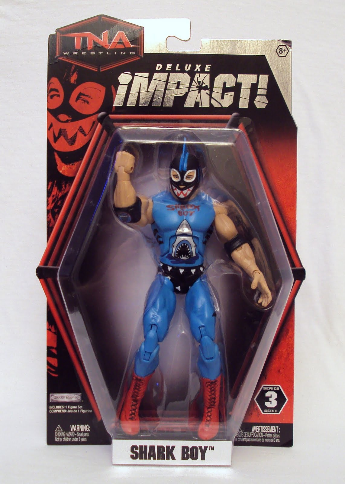 Toy Boy 3b's Toy Hive: Tna Deluxe Impact!, Shark Boy - Review